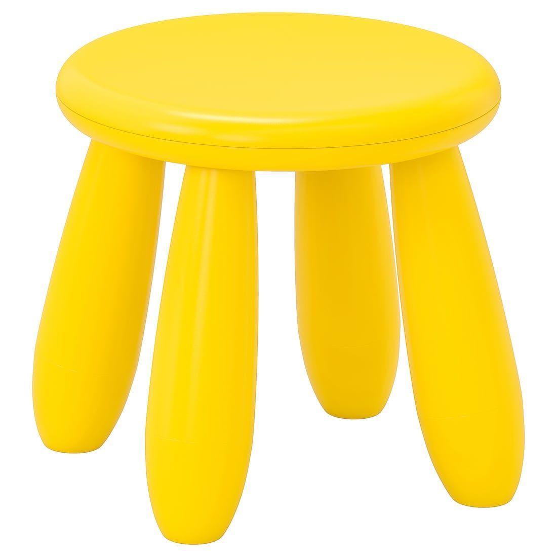 Mammut Kinderhocker Innen Aussen Gelb Ikea Kinder Hocker Kinderhocker Kinder Spielzimmer Mobel