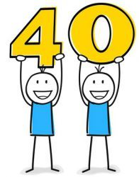 Liebevolle spruche zum 40 geburtstag