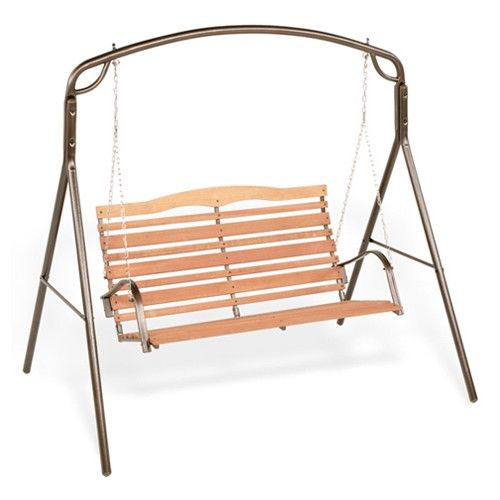 Woodlawn Collection Bronze Swing Frame | Swings, Swing seat and ...