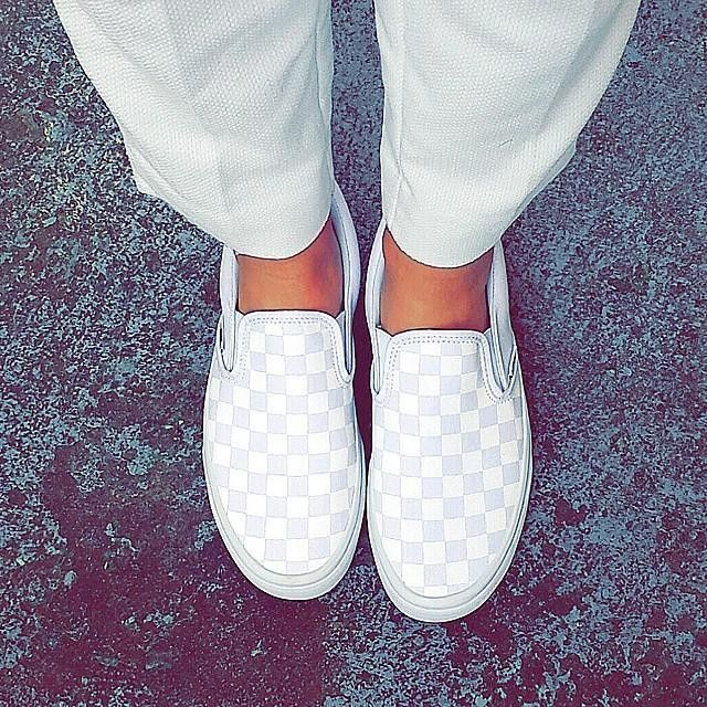 This is my every day shoe  1!checkerboard Slip-On  188982438ac