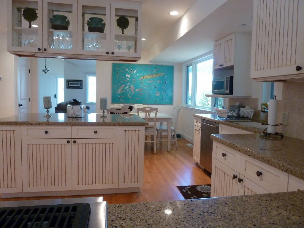 Pacific Grove house rental - This is looking into the kitchen from ...