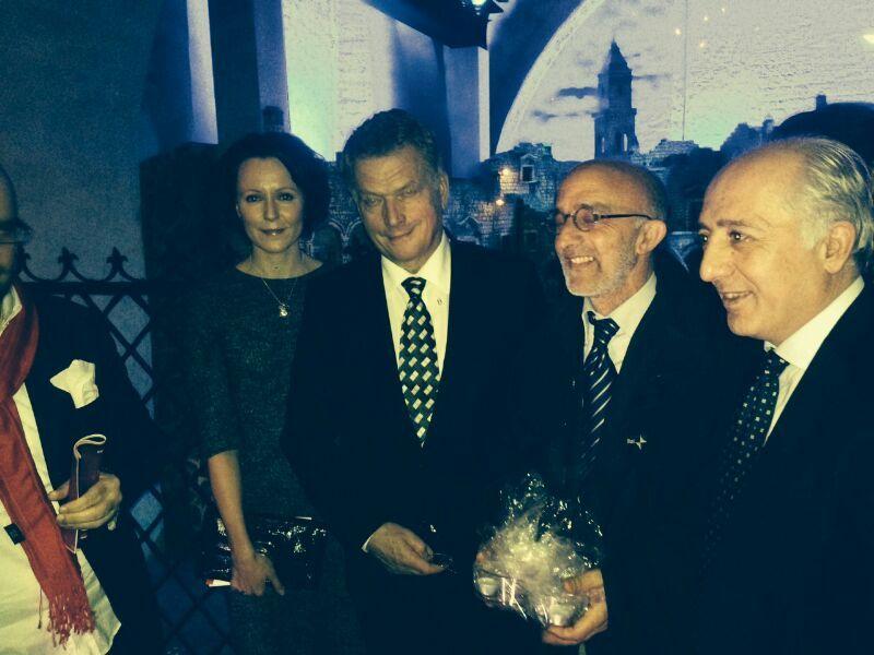 Visita del Presidente finlandese e consorte