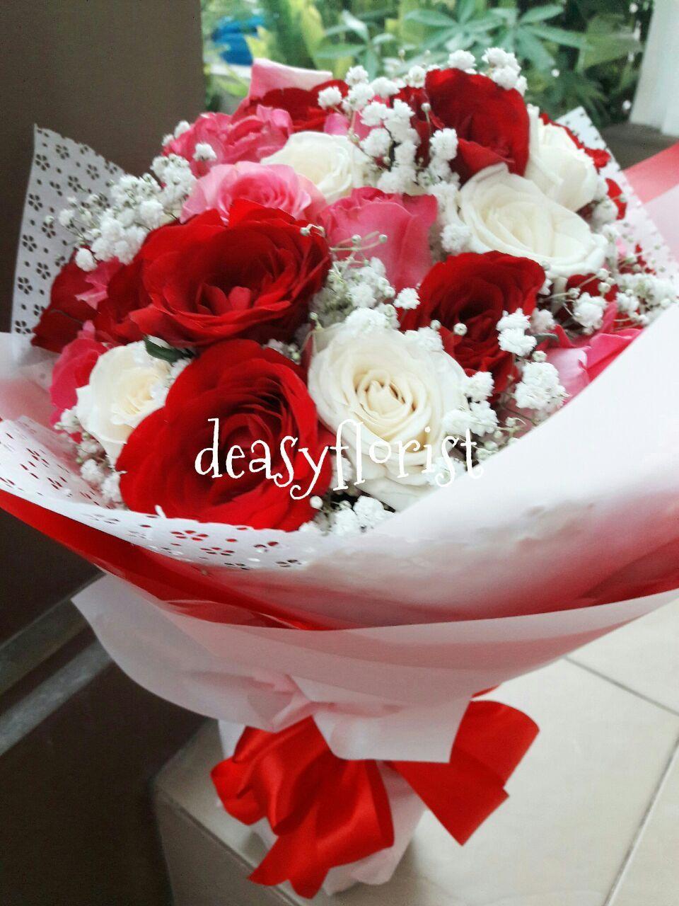 Hand Bouquet Jual Bunga Toko Bunga Buket Wisuda Nikah Bunga