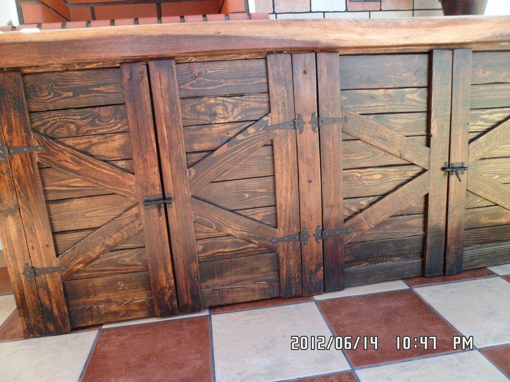 Puertas de mi barbacoa hacer bricolaje es for Mesas hechas con puertas antiguas