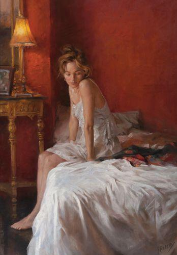 Pastel Gallery Figure PaintingWoman