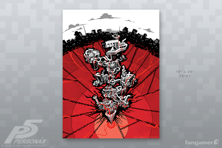 7d2cd775 Mementos Poster | amine | Poster, Persona 5, Persona