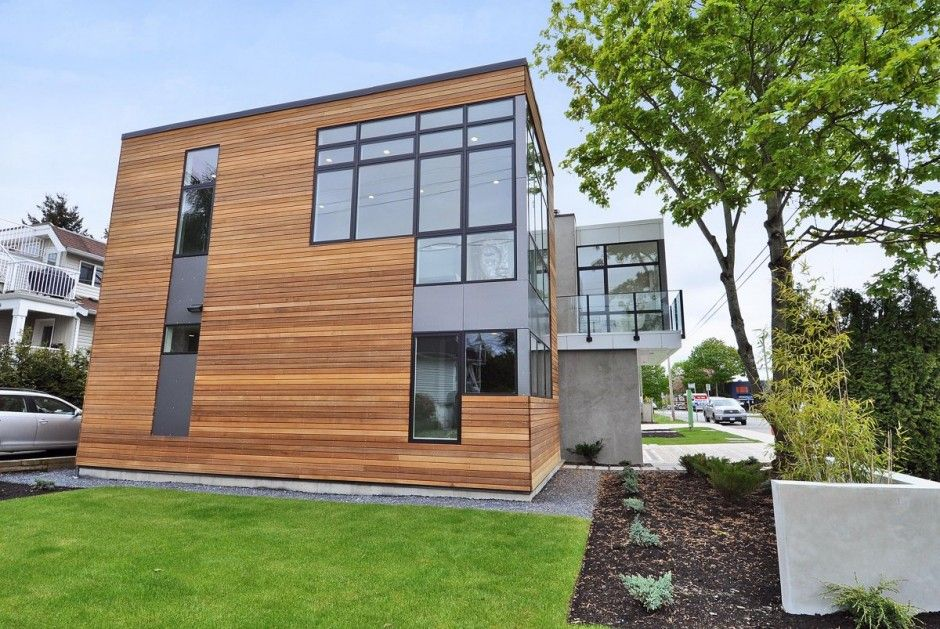 beachaus i is a prefab home designed by pb elemental built by inhaus development and is the first leed platinum home in the white rock area in british - Deckideen Fr Modulare Huser