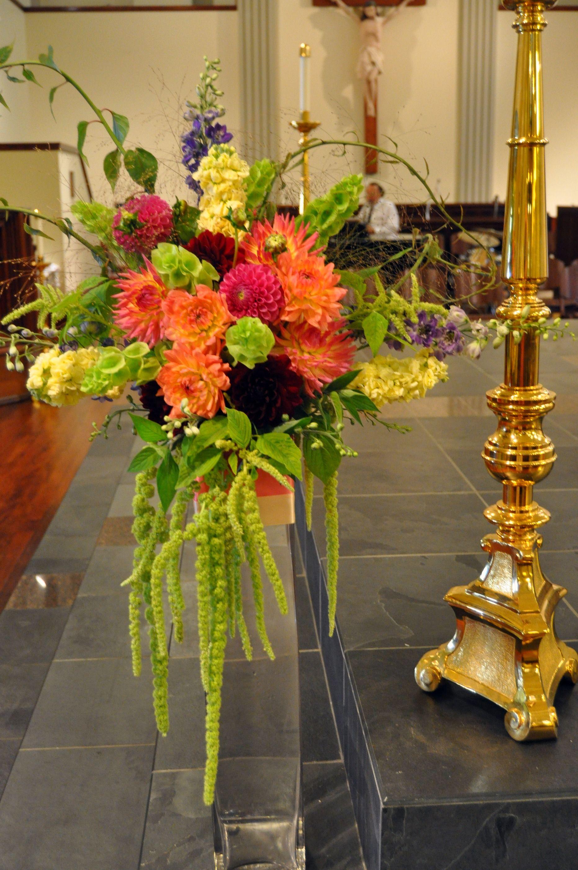 Wedding flowers ideas colorful spring wedding flower for Spring flower arrangement ideas