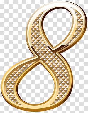 Gold Number 8 Illustration Gold Number Gold Deco Number Eight Transparent Background Png Clipart Transparent Background Gold Number Coin Icon