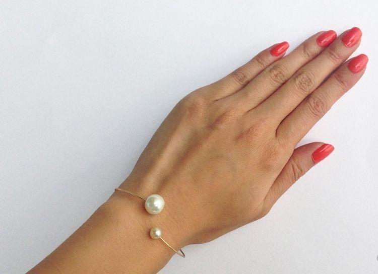 Schmuck selber machen draht-armband-chanel-design | schmuck ...