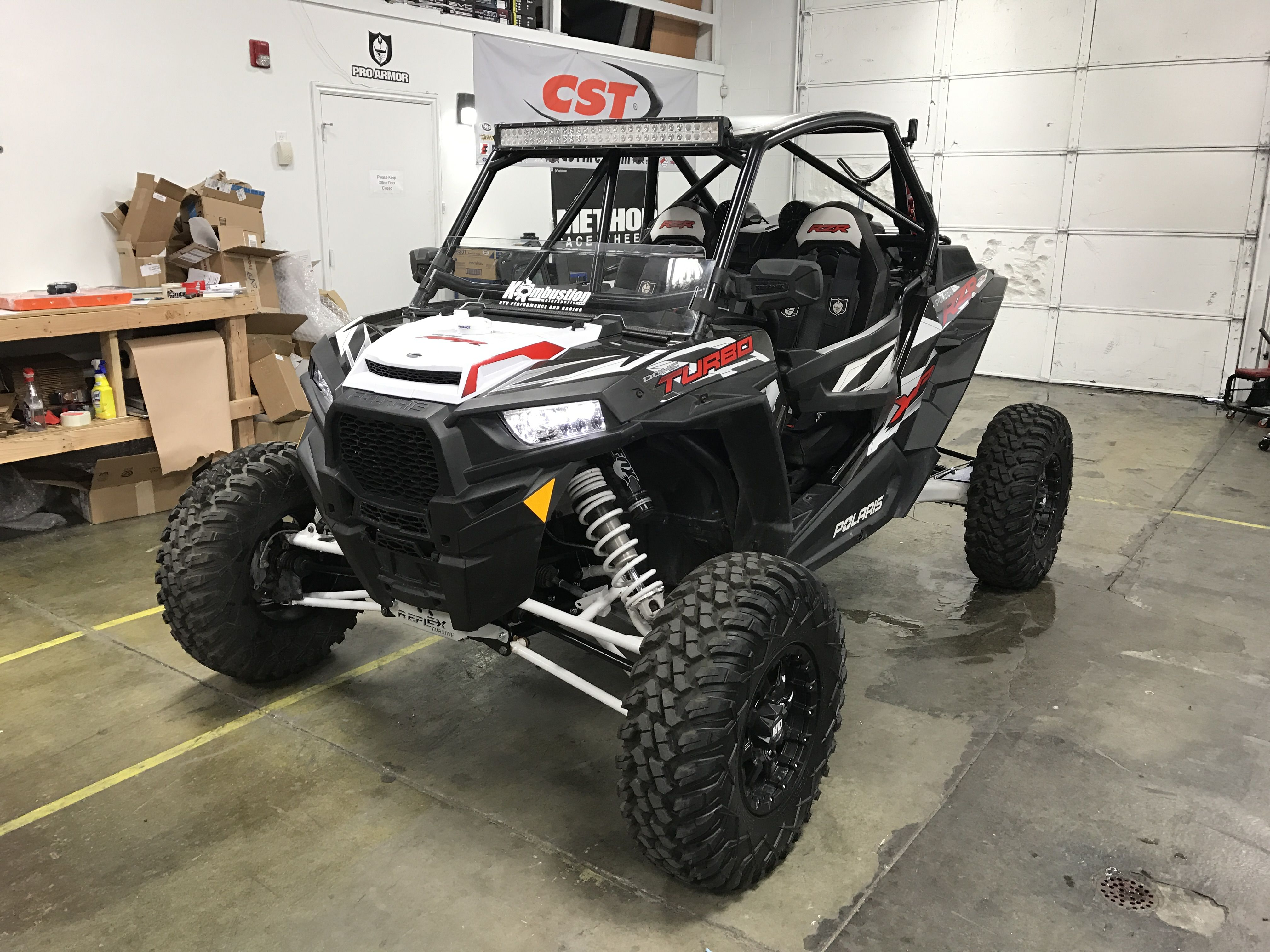 Finished up a good customers rzr turbo with reflex ...