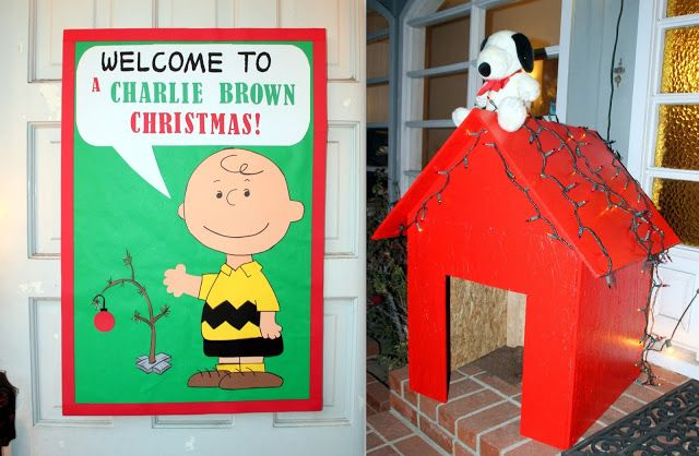 Charlie Brown Christmas Party Decorations from i.pinimg.com