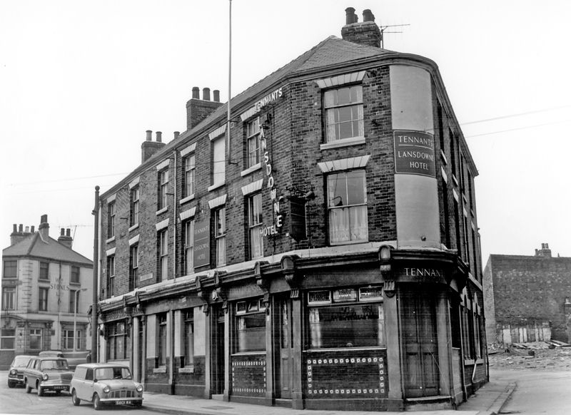lansdowne hotel nos 2 and 4 lansdowne road and london road at junction of beeley street. Black Bedroom Furniture Sets. Home Design Ideas