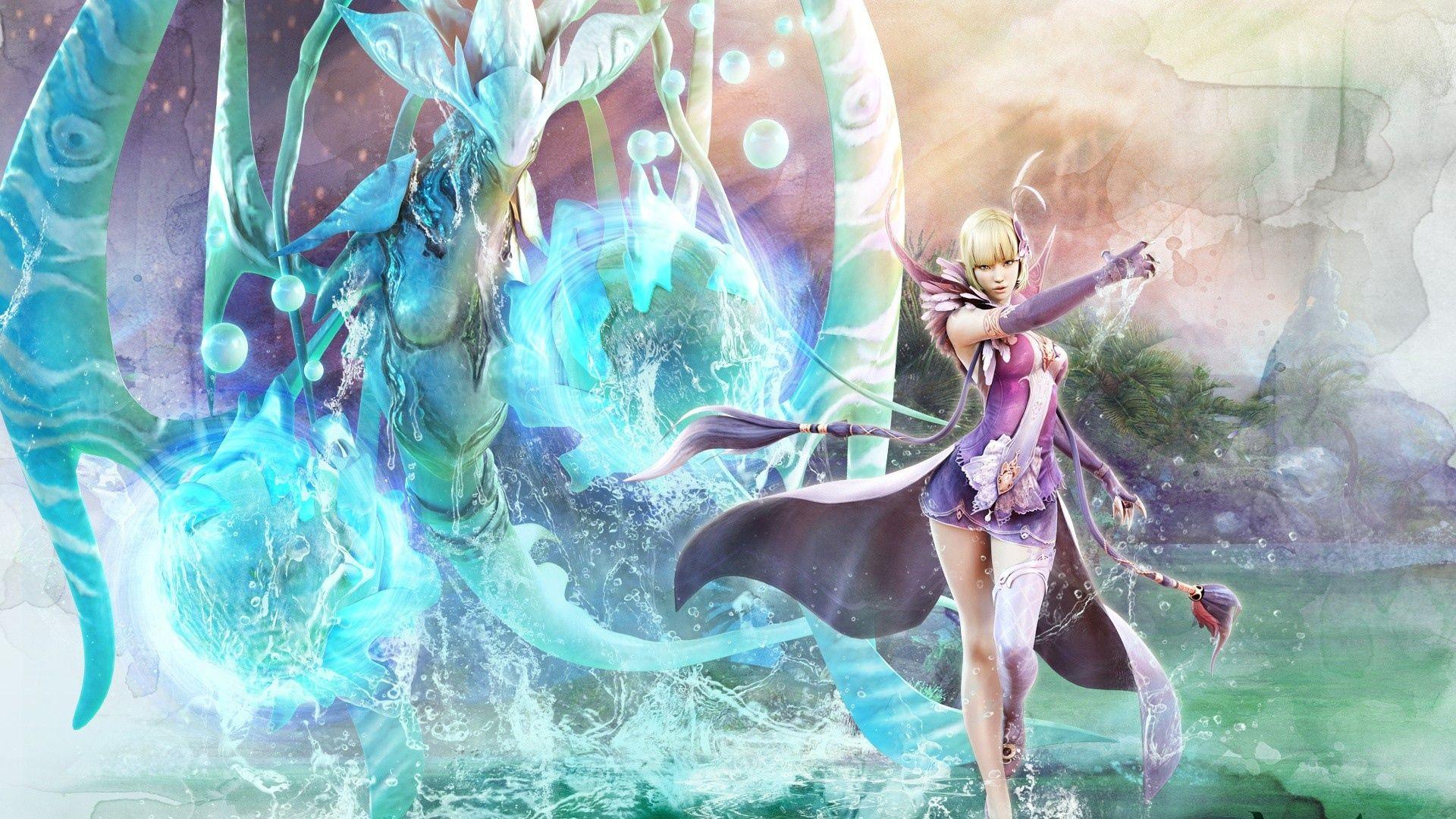 Astonishing aion girl magician water « Kuff Games