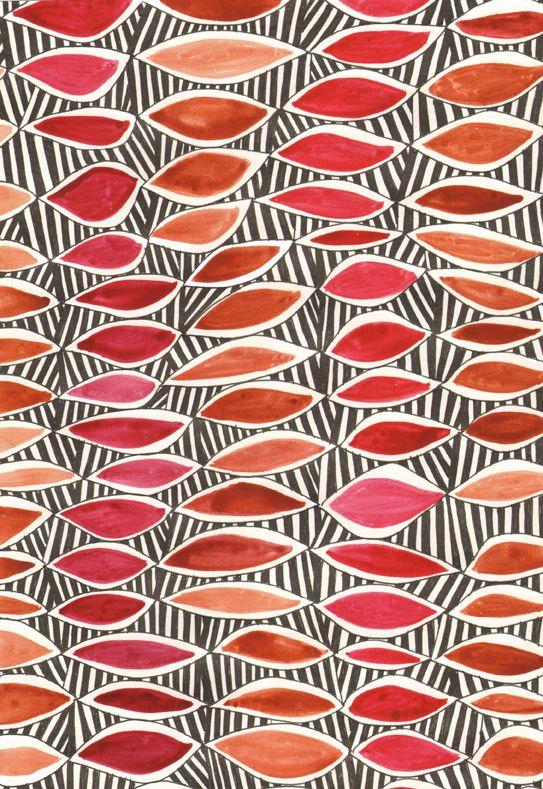 Surface pattern design by Sarah Bagshaw