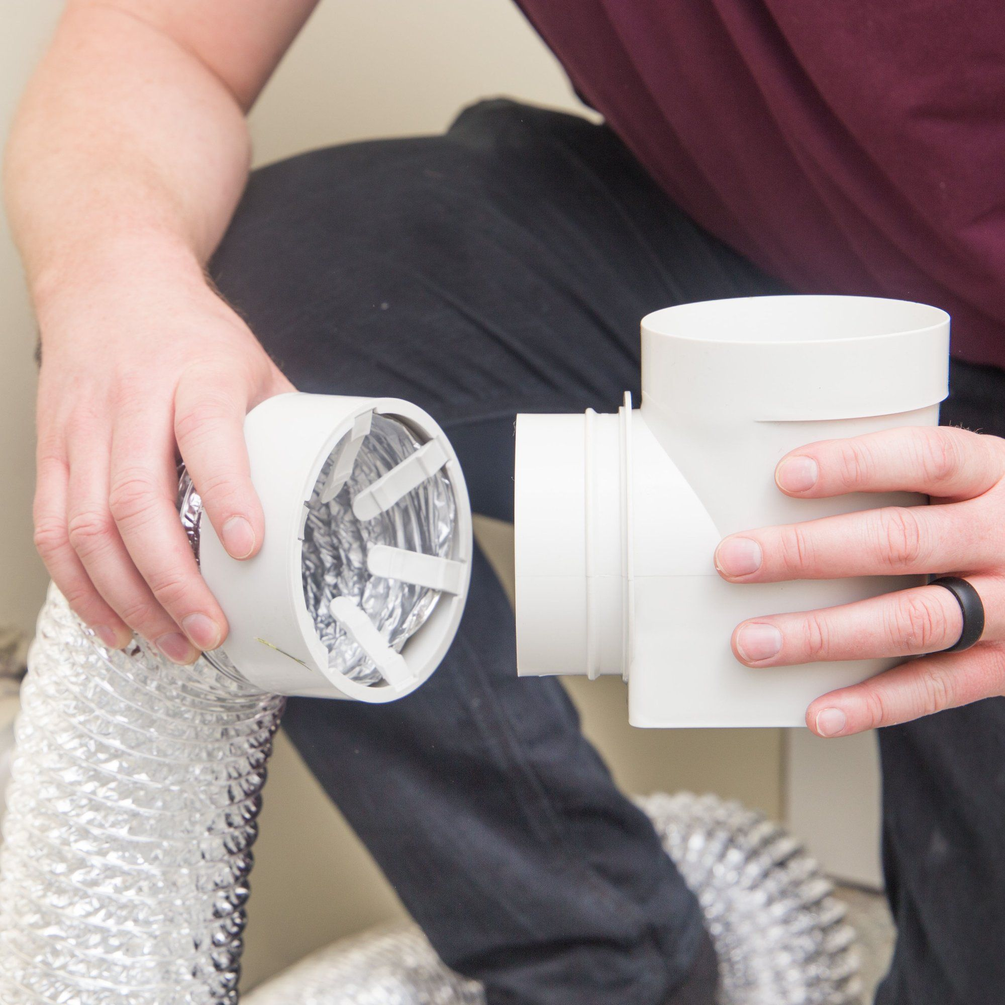 Ziggurat Products And Snap To Vent Are The Best And Easiest Way To Install Your Dryer No Hose Clamp Needed No Tools Req Dryer Vent Dryer Hose Dryer Vent Hose