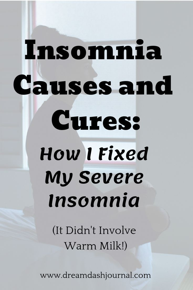 Insomnia Causes and Cures: Real Solutions That Don