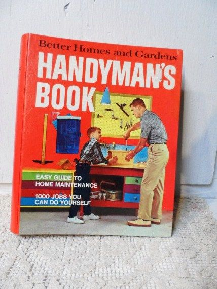 1970 better homes and gardens handmans book hard cover binder 1970 better homes and gardens handmans book hard cover binder style fully illustrated how to solutioingenieria Image collections