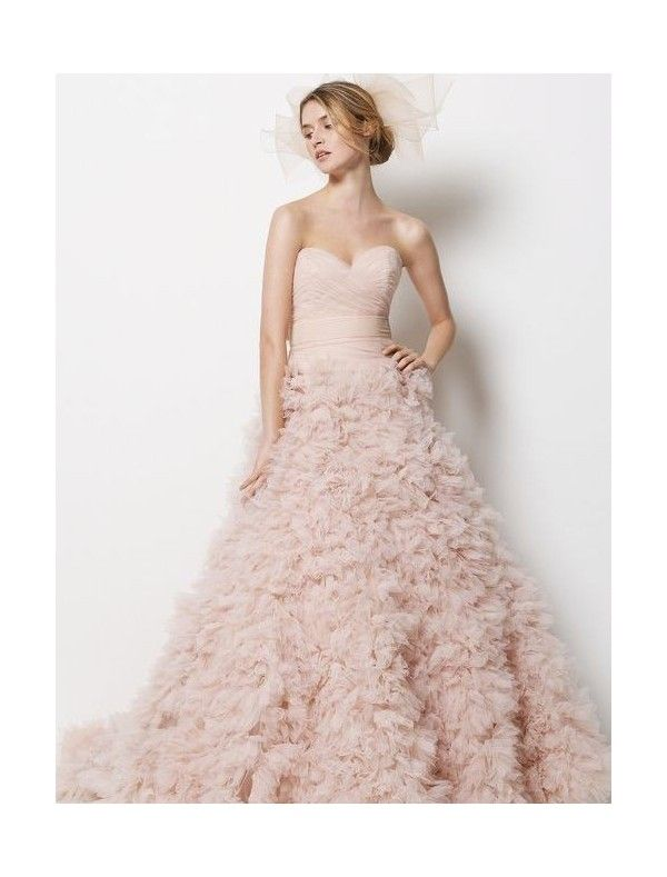 Ruffled Tulle Dress