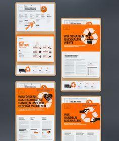 Project: TAKKT Nachhaltigkeitsbericht 2014 | Designer: Strichpunkt #print