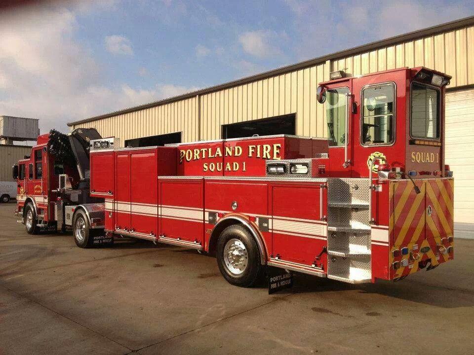 Tiller Rescue Fire Trucks Emergency Vehicles Rescue Vehicles