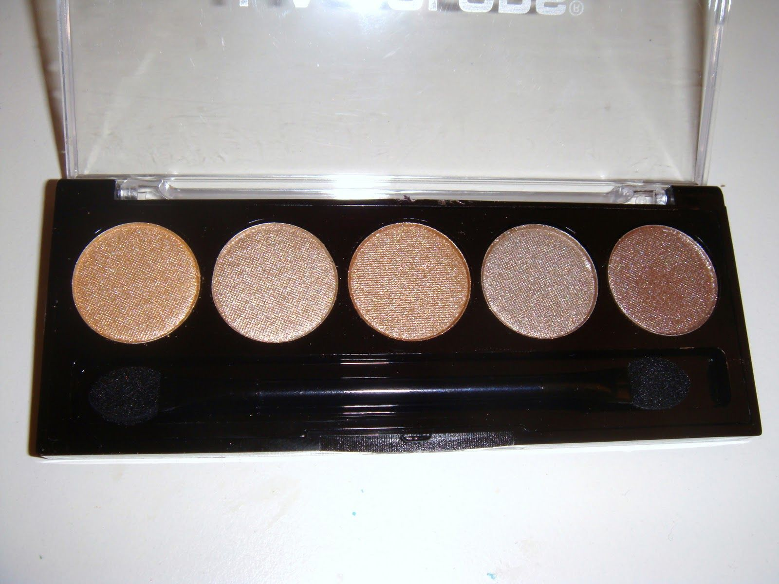 L.A. Colors 5 Color Metallic Eyeshadow in Tea Time | My Makeup ...