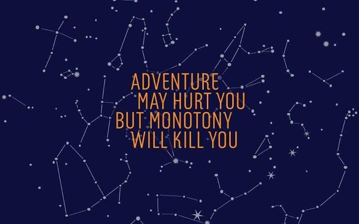 monotony will kill you-strongly agree with this. I feel like it is.