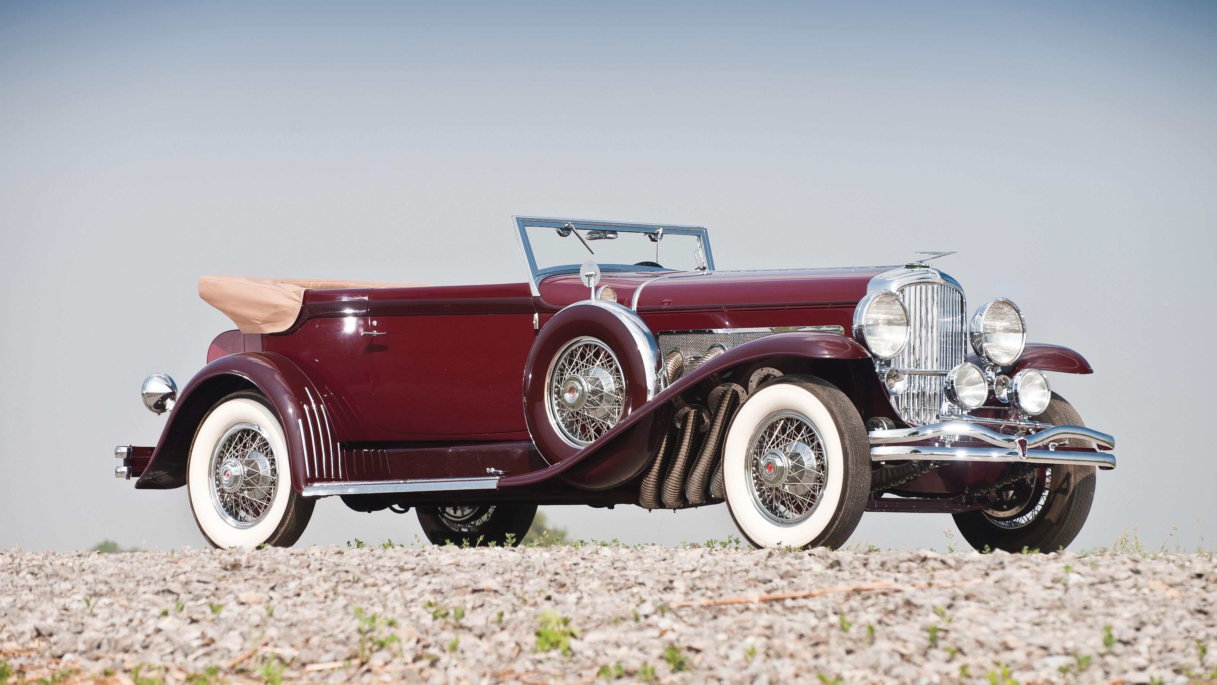 Duesenberg Model SJ Convertible Victoria by Rollston 1933 ...