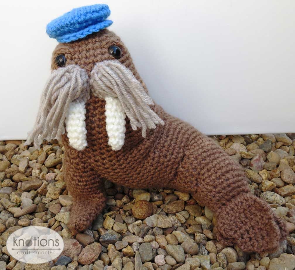 Gratis Haakpatroon Walrus Crochet Pinterest Crochet Crochet