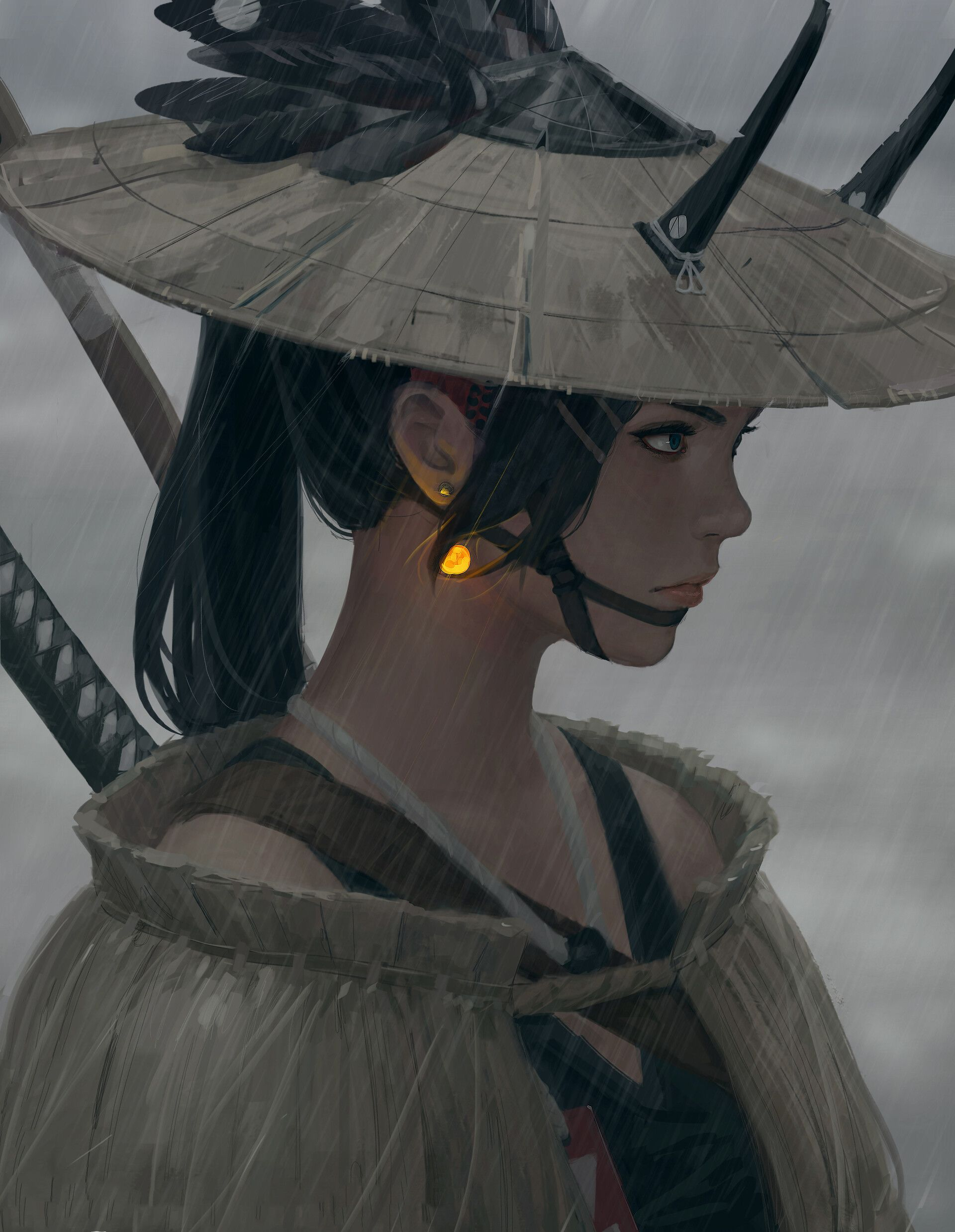 ArtStation Inspector, Z.W. Gu Realistic art, Anime art