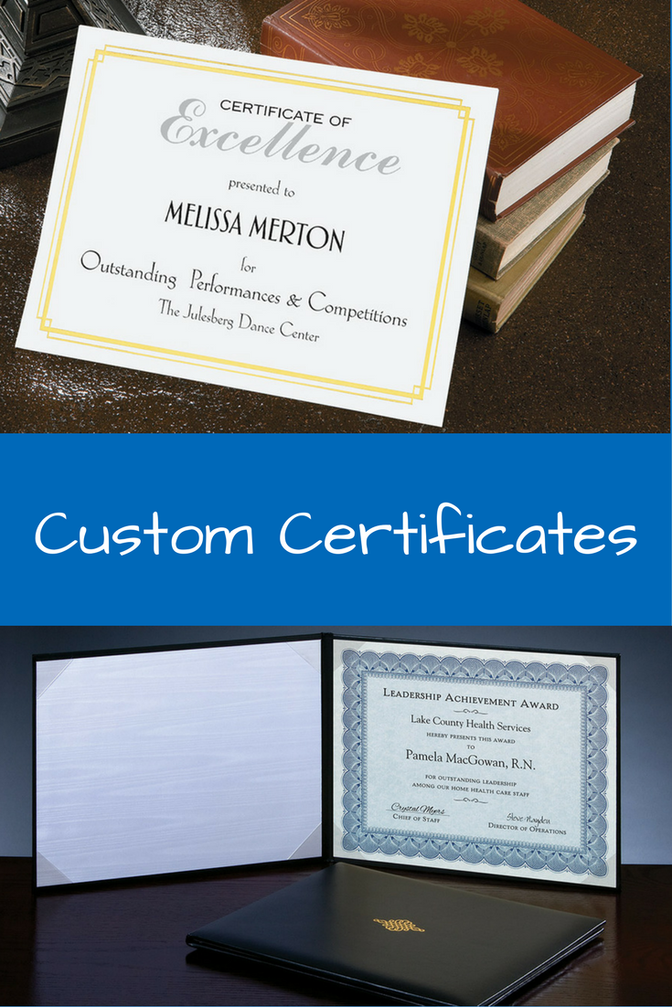 Certificates Certificate Jackets And Plaques Available In Different Colors And Styles Find The Ide Certificate Business Stationery Office Supplies Checklist