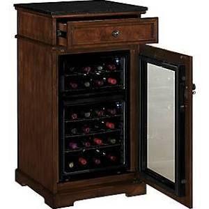 Tresanti Madison 24 Bottle Dual Zone Convertible Wine Red