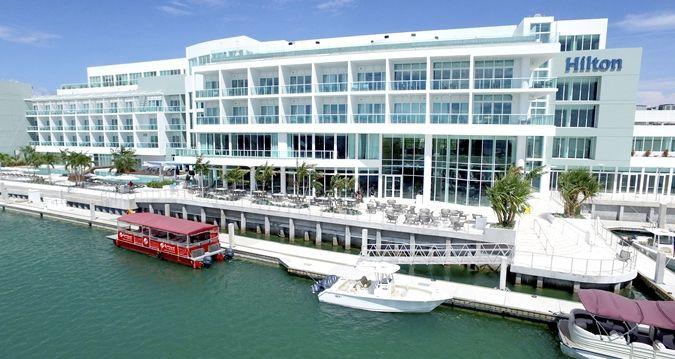 Hilton At Resorts World Bimini Hotel Bahamas Exterior View