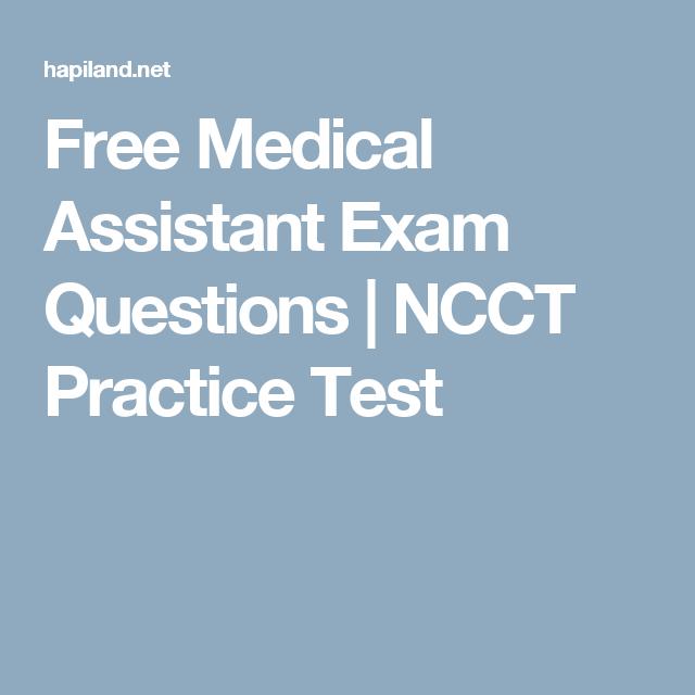 practice medical test assistant utmost