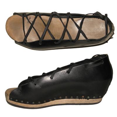 Trippen Geisha platform shoes