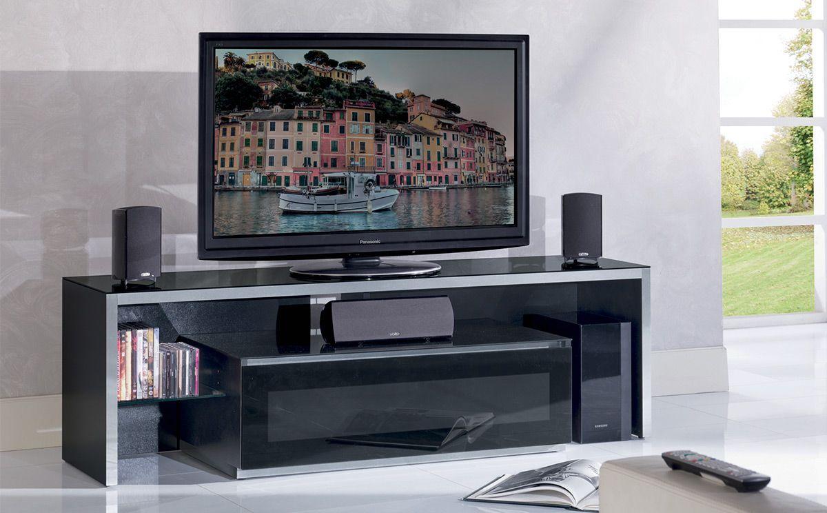 Meuble Tv Munari Genova Ge165 La Fois Une Partie Centrale  # Meuble Tv Ultra Compact