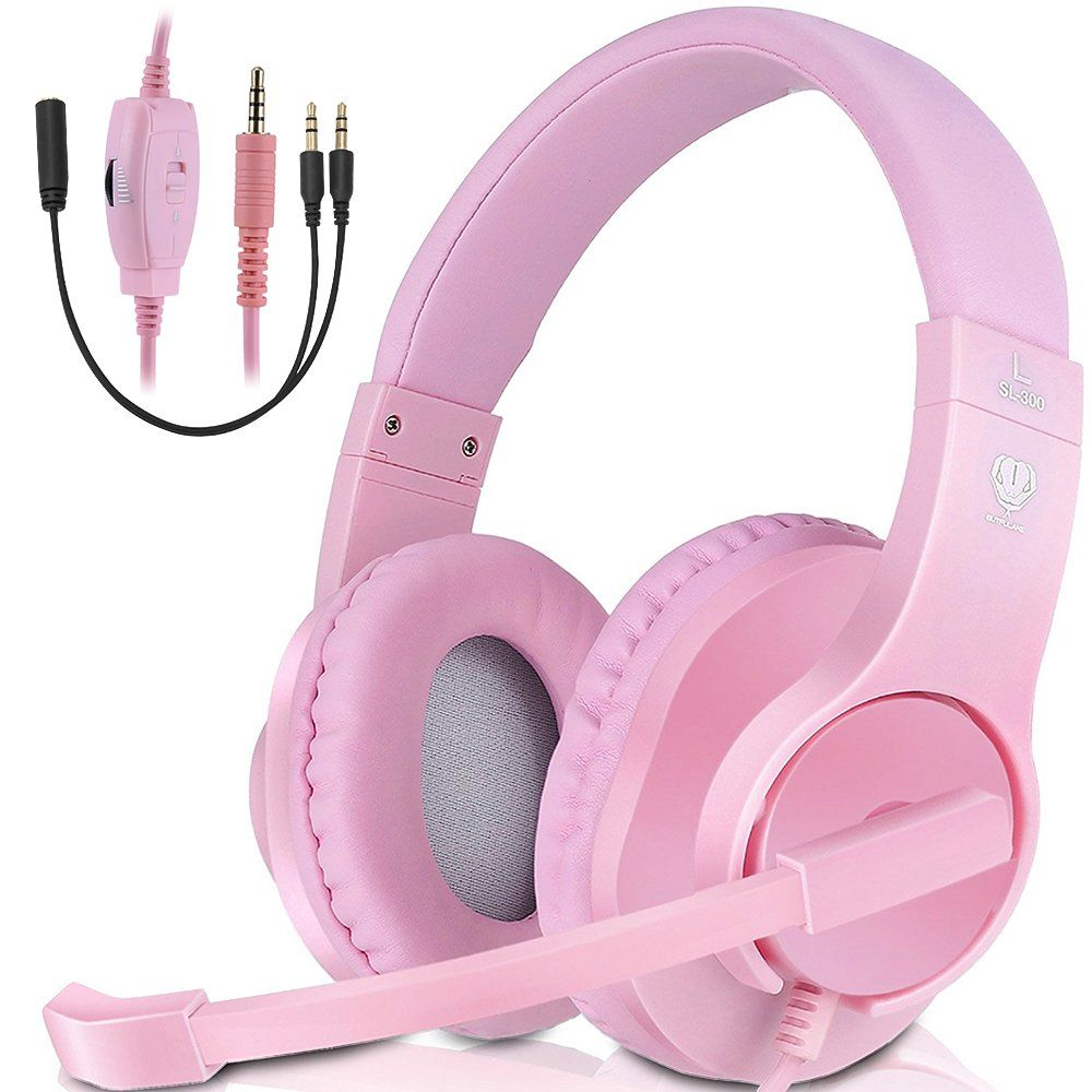 Xbox One Gaming Headset Ps4 Gaming Headphone Pc Gaming Headset With Mic Wired Overear Headphones W Ps4 Gaming Headset Gaming Headphones Wireless Gaming Headset