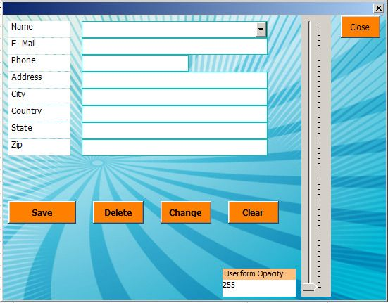 Userform Example | Excel Tutorials and Excel Advanced Templates ...