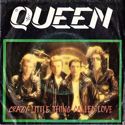 """QUEEN Crazy Little Thing Called Love 1979 Portugal Rare 7"""" 45 Vinyl 8E00663317"""