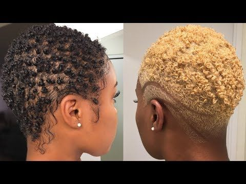 How To Safely Bleach Natural Hair Black To Blonde Big Chop