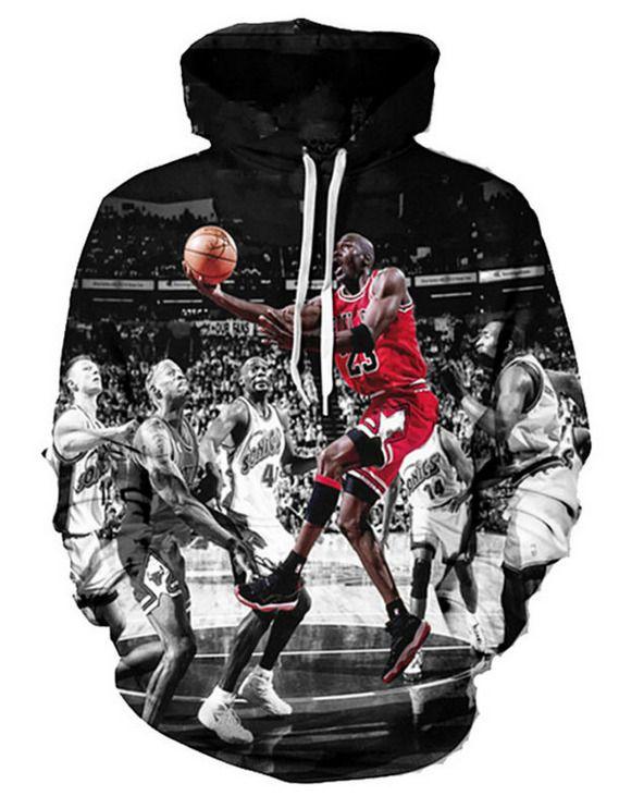 9bca29444bd9b3 Fashion Women Men Jordan Funny 3D Print Casual Hoodies Sweatshirt 60 ...