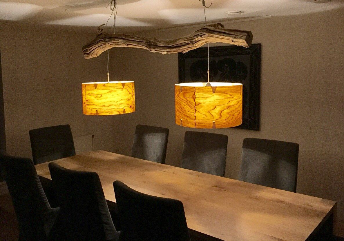 Lampe Esszimmer Diy Ceiling Lamp Of Weathered Old Oak Branch Teslight