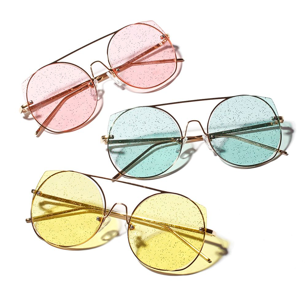 d50b813e2 $6.98 Peekaboo vintage round sunglasses women retro yellow pink green women cat  eye sun glasses with clear lens men metal frame #roundsunglasses #clearlens  ...