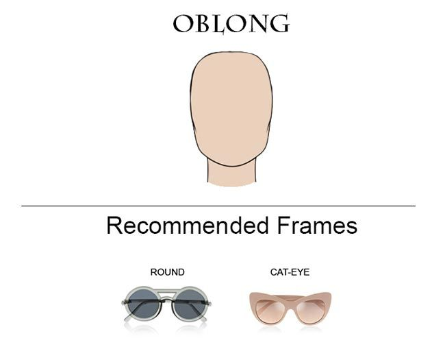 Best Eyeglass Frame For Oblong Face : How to Choose Glass Frames for Your Face Shape Best ...