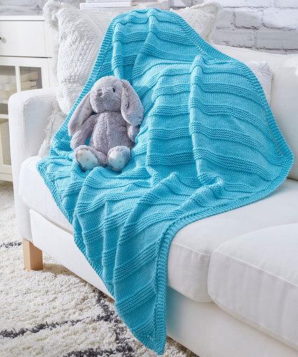 Cuddly Knit Baby Blanket #c2cbabyblanket