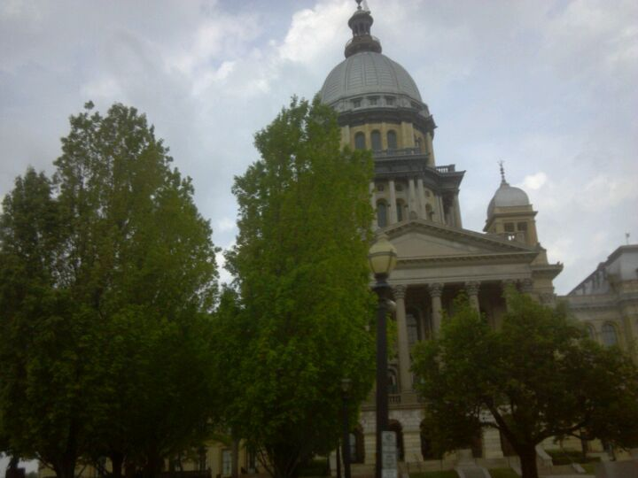 City of Springfield in Illinois