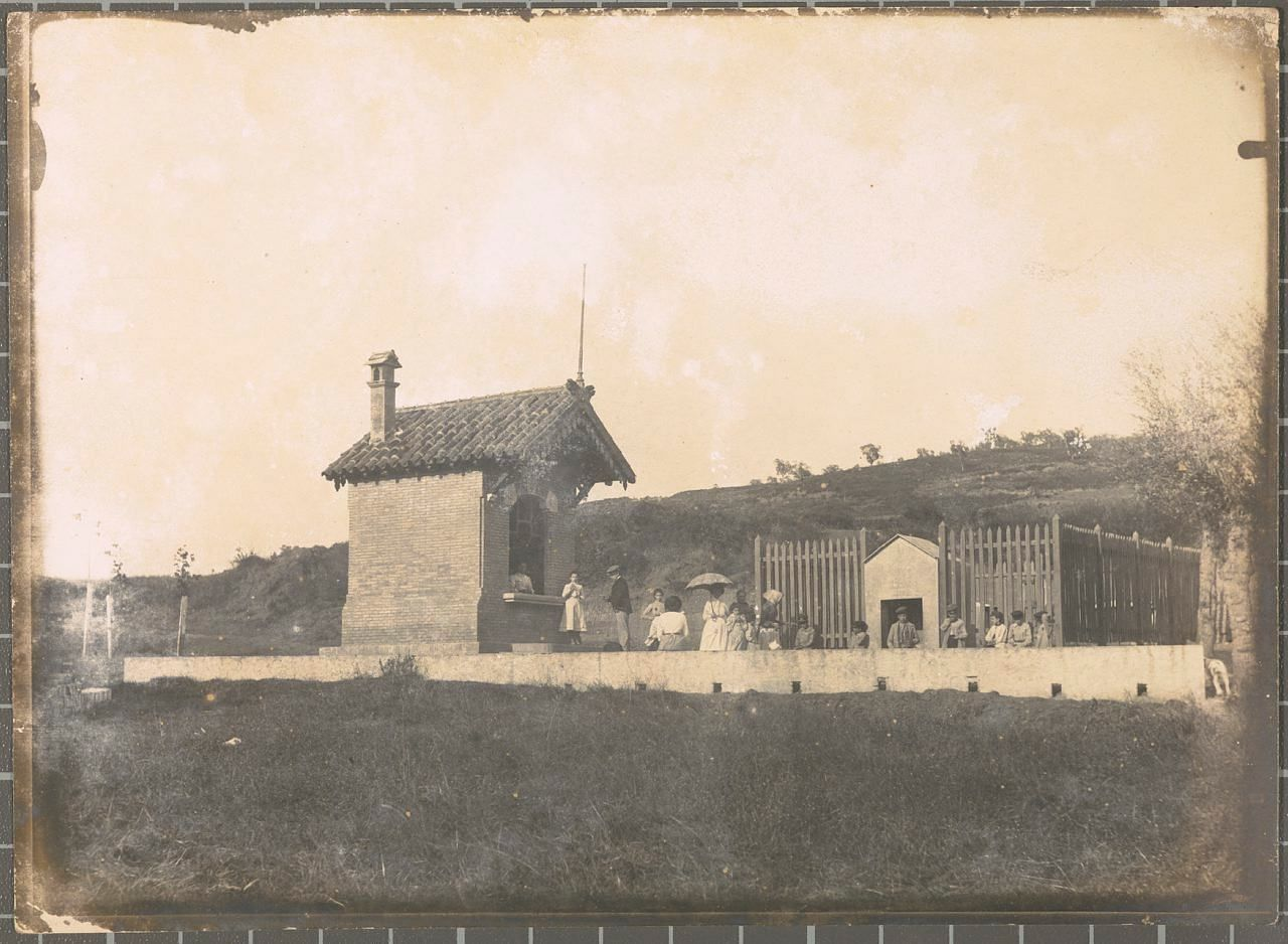 1900 girona i font de la polvora