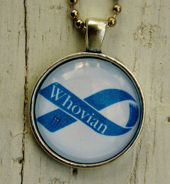 Doctor Who Whovian Necklace. Doctor Who by EvangelinasCloset, $14.00
