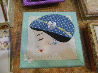 Mosaicos Eliane Amorim: Caixas variadas em patchwork embutido