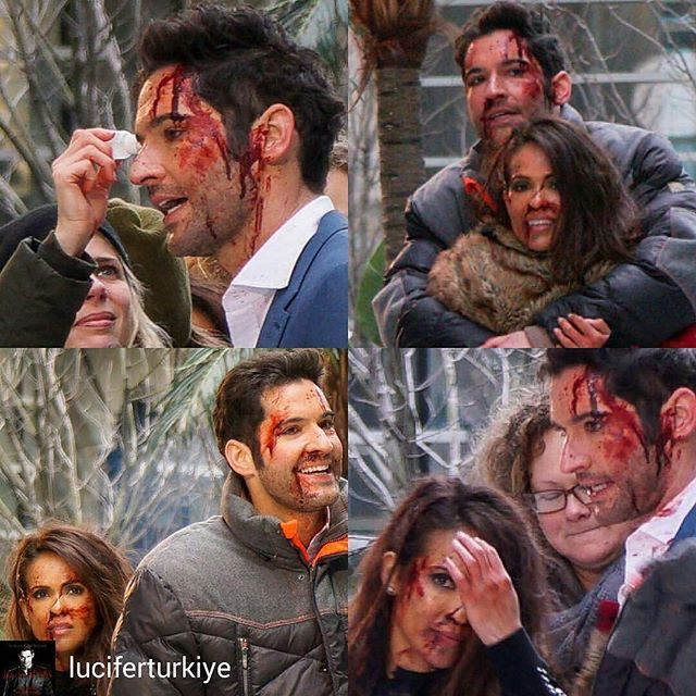 Lucifer Season 4 Bts: @Regrann From @luciferturkiye